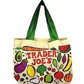 【新品未使用】Treder Joe's キャンバス生地 お買い物バック