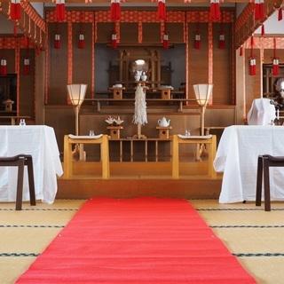 神前式家族婚【2万円〜】挙行致します
