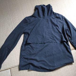 マタニティ+授乳口つき長袖Tシャツ