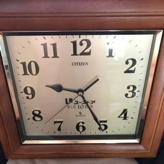 ユーストア創立10周年記念壁掛け時計 citizen