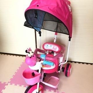 散歩用三輪車の画像