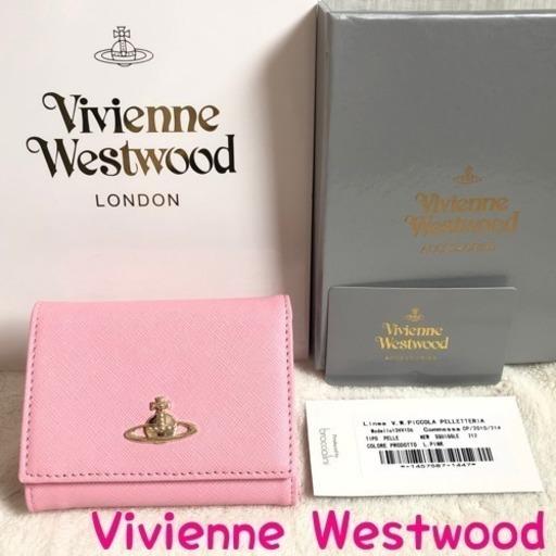 ef836179e686 訳あり激安 ヴィヴィアンウエストウッド 財布 正規品 新品 三つ折り がま口の画像