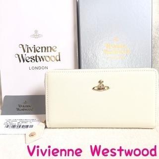 ヴィヴィアンウエストウッド 財布 正規品 新品 ホワイト