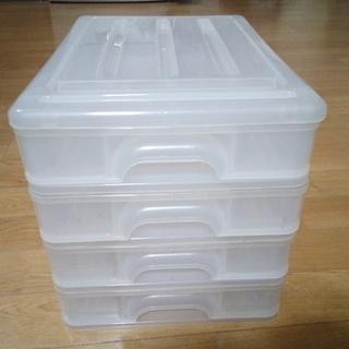 プラスチック レターケース A4紙収納可能