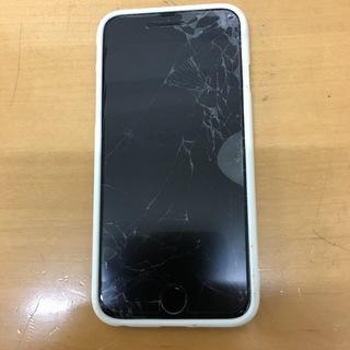 iphone 6 softbank 画面割れ 右ボタンが使えません