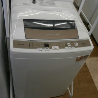 ,【引取限定】洗濯機 アクア AQW-KS70D 2016年製 ...