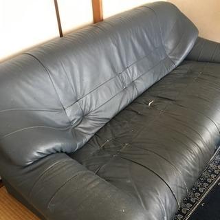 三人掛けソファ、無料。