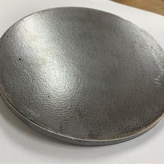 【送料無料】丸 鉄板 極厚板 直径18cm 厚み9mm 調理やDIYに!