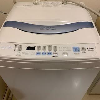 2010年式 SANYO  洗濯機 7kg 難有りのため激安