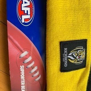 新品、未使用 AFL TIGERS ニット帽