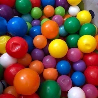 カラーボール大小25個ずつ計50個
