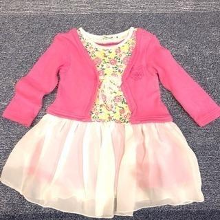 子供服 ワンピース mia mail 女の子 90センチ