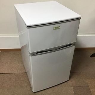 2015年製アビテラックス 96L 2ドアノンフロン冷蔵庫(右開...