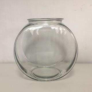 ガラス製 金魚鉢 太鼓型