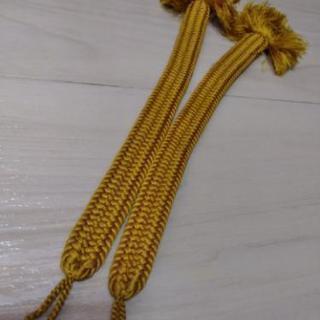 羽織紐 黄色 - 福岡市