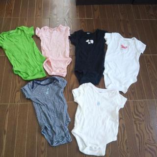 サイズ 60 ~ 70 半袖ロンパース