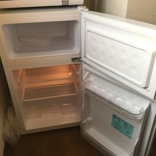 4月14日まで、 2018年式 HAIER 冷蔵庫(JR-N85B)