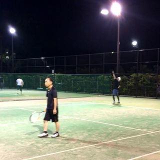★活動再開★ 一緒にテニスをしましょう! 毎週水曜日の夜  【淵...
