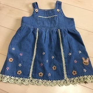 ワンピース ジャンパースカート
