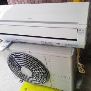 日立 エアコン 白くまくん 約6畳用 2012年製