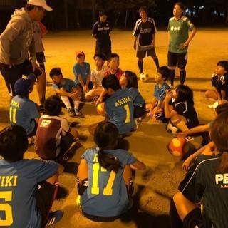 女子向けサッカークリニック@京都市北区柏野