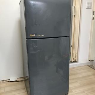 シャープ 2ドア冷蔵庫 125L