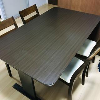 ダイニングテーブル+4脚セット