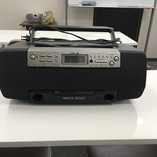 SonyダブルカセットCDプレイヤー 3台