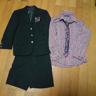 式服、ナカノヒロミチのスーツ120、コシノミチコのシャツ130