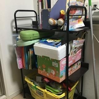 本棚 書類整理棚 おもちゃ収納用にもプリンター台にも