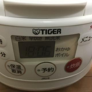 タイガー 炊飯器 JAU-G550