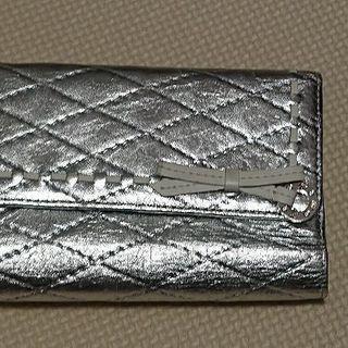 財布シルバーカラー