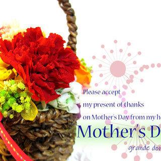 母の日☆彡 感謝の気持ちをキレイが続くプリザーブドフラワーで♪