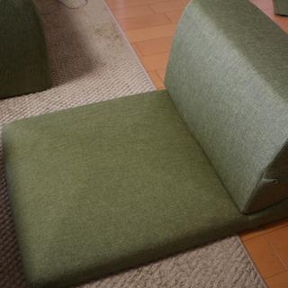 座ソファー あげます。