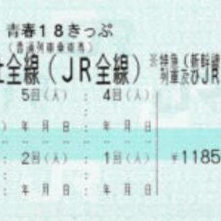 青春18きっぷ 1回分 (H.31春季)