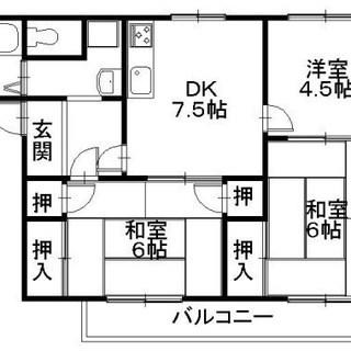彦根市ベルロード大人気アパートです。保証人なし、敷金なし、礼金な...