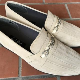 古~いほとんど未使用の革靴 26.5~27cm