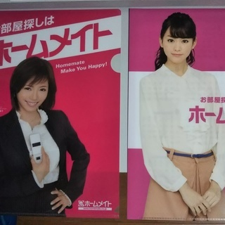 クリアファイル(桐谷美鈴・釈由美子)5枚セット