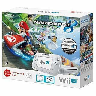 【通電OK】Wii U 32GB スーパーマリオカート8パック【...