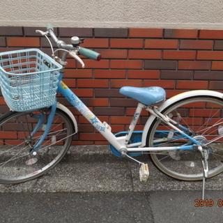 取引中 子供用自転車 22インチ 中古 無料