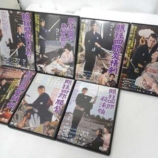 眠狂四郎 DVD7本セット 市川雷蔵 江戸 時代劇 大映 剣士 ...