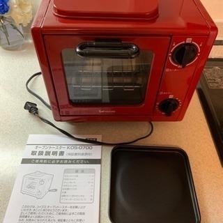 コイズミ 赤のオーブントースター