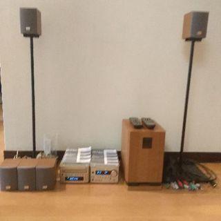 ONKYO INTEC ホームシアターBASE-V10 & DV...