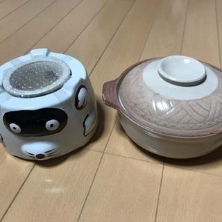 1人用 陶器土鍋 たぬき仕様
