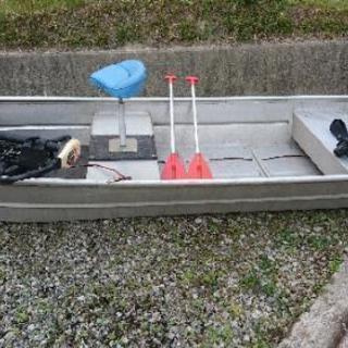 【値下げしました】アルミ ジョンボート 12ft エレキ セット
