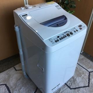 ☆シャープ☆熱乾燥付き洗濯機☆5.5kg☆2014年製☆分解清掃済み