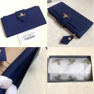 ヴィヴィアンウエストウッド 財布 正規品 新品 ブルー 縦型 定期入れ - 北見市
