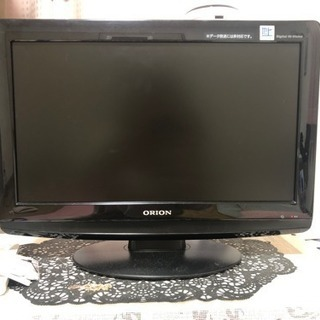 orionの19型液晶テレビ