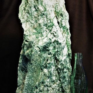 フックサイト 原石13.5㎏!H40cm! ブラジル産 鉱物標本...