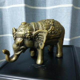 象の置物。値下げしました。